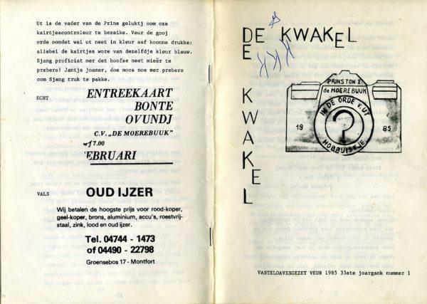 Kwakel 1985