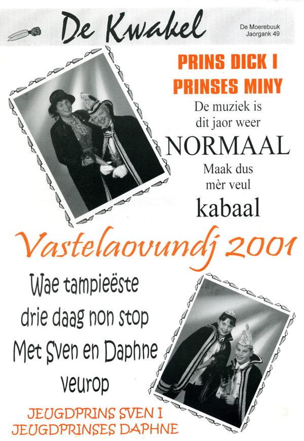 Kwakel 2001