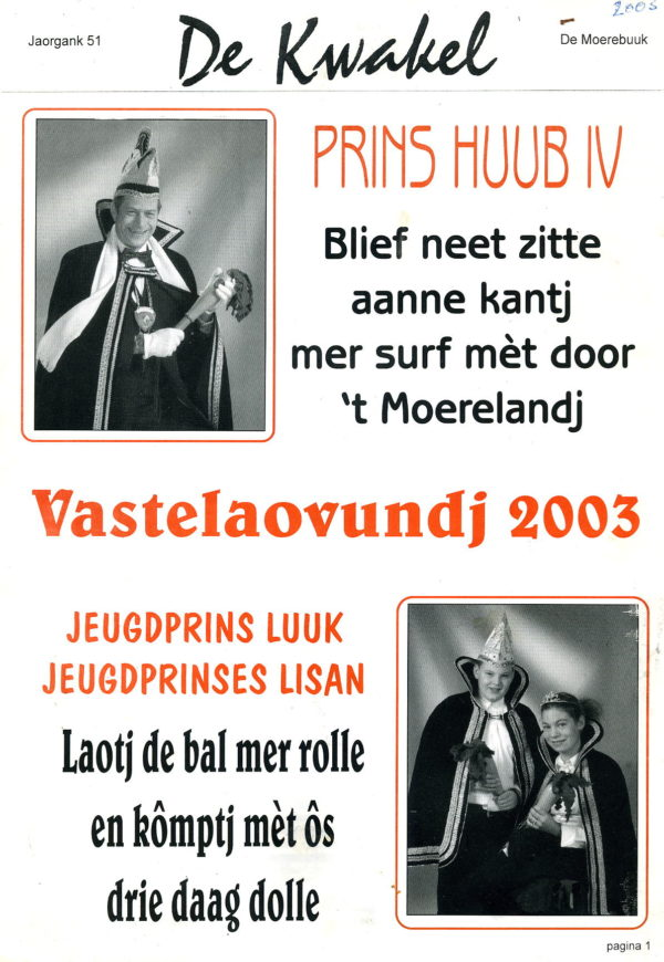 Kwakel 2003