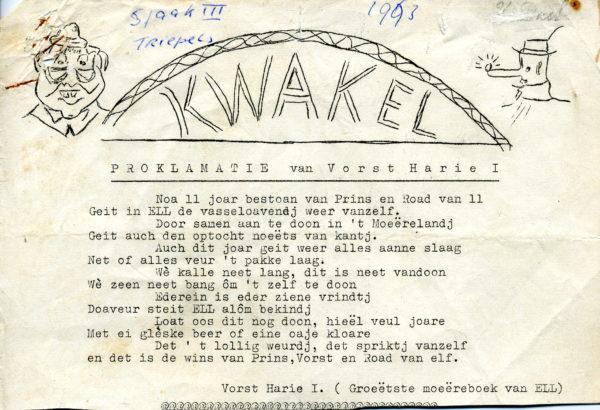 Kwakel 1963