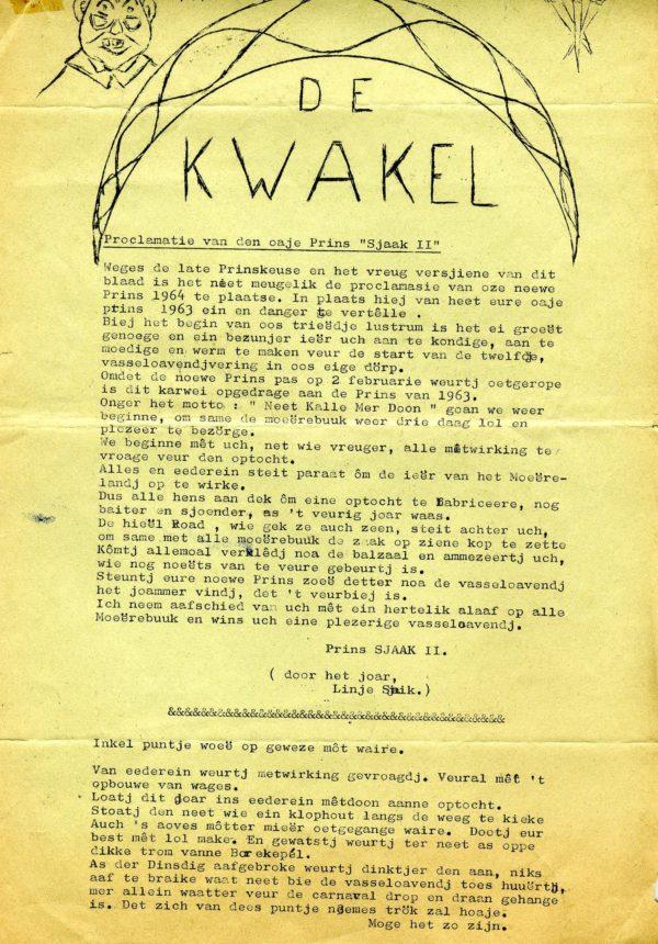 Kwakel 1964