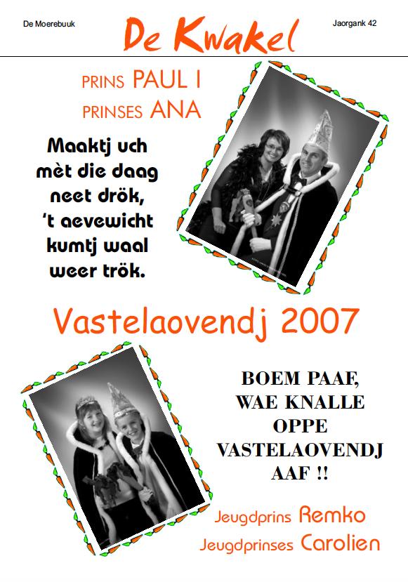 Kwakel 2007