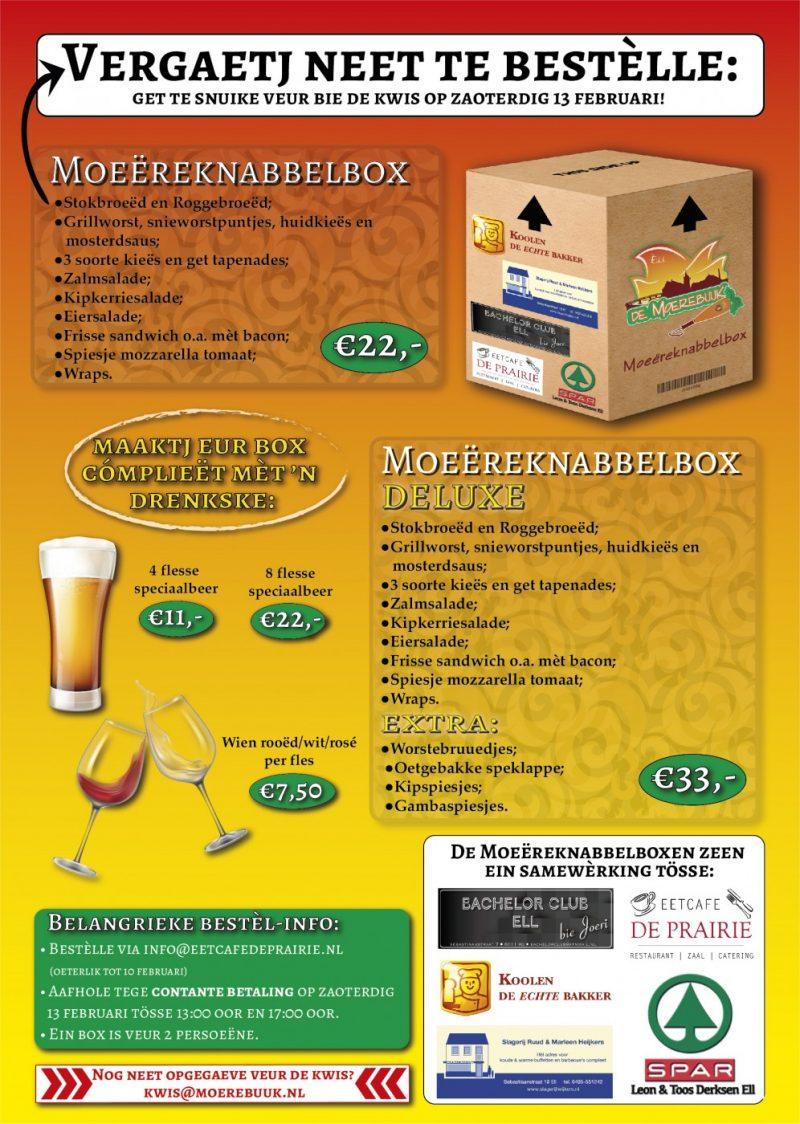 Poster Moereknabbelbox